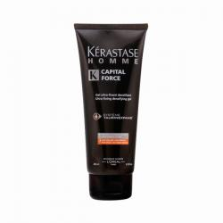 Kerastase - HOMME CAPITAL FORCE gel ultra-fixant densifiant 200 ml - Imagen 1