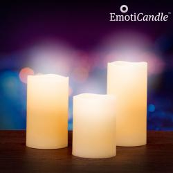 Velas LED Blow Sensor EmotiCandle (pack de 3) - Imagen 1