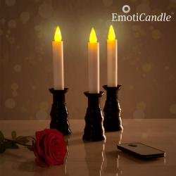 Velas LED Romantic Ambiance EmotiCandle (pack de 3) - Imagen 1