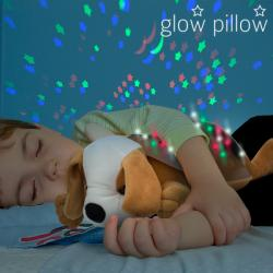 Proyector LED con Sonido Perrito Glow Pillow - Imagen 1