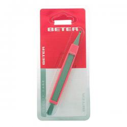 Beter - CUTICLE CUTTER with cuticle pusher and nail file 1 pz