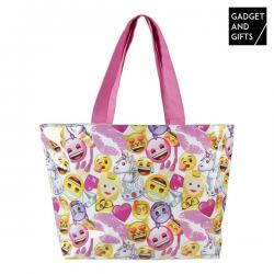Bolsa de Playa Emoticonos Fashion Gadget and Gifts - Imagen 1