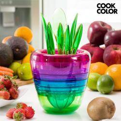 Utensilios de Cocina Apilables Multi Tool Fruit Cook Color